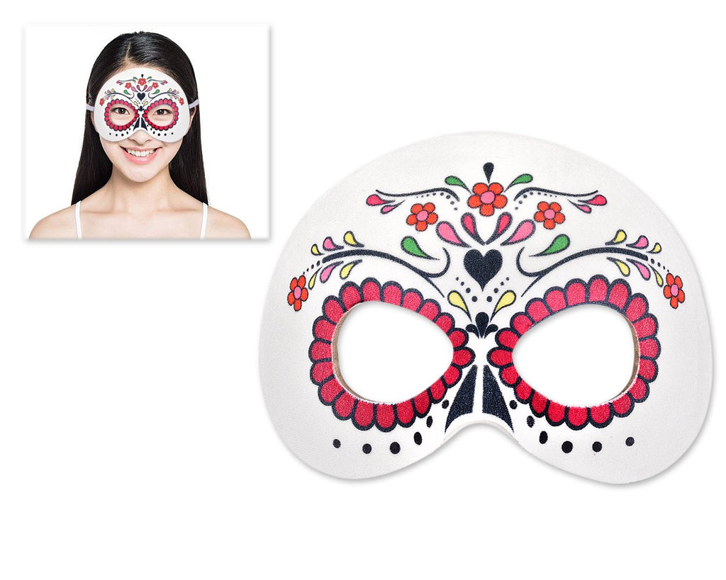 Women's Halloween Mask Masquerade Mask for Party - White