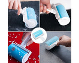 Washable Plastic Sticky Lint Roller with Grip Handle