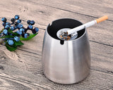 Frost Windproof Stainless Steel Ashtray