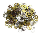 150 Grams Steampunk Gear Cog Charms for Jelwelry Making - Mixed Color
