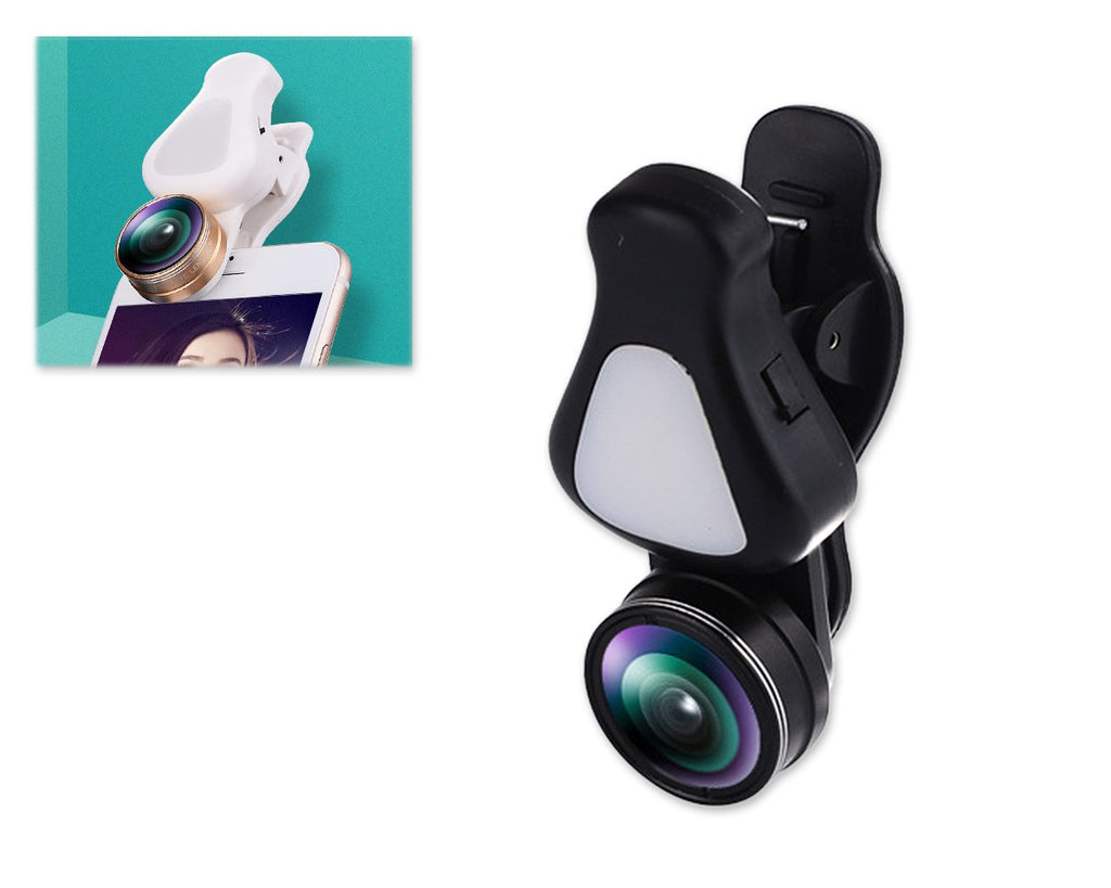 3 in 1 Clip on Phone Camera Lens with Fisheye Lens