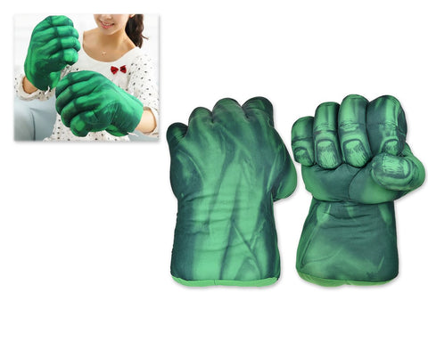 Hulk Hands Gloves for Kids 1 Pair 11 Inch Plush Toy