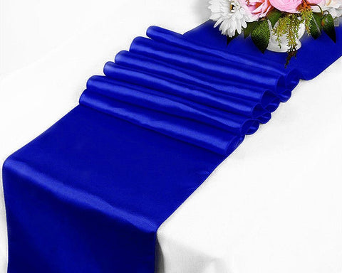 Satin Table Runner for Wedding Party Table Decoration 12 x 109 Inch