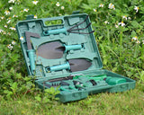Garden Tool Set of 10 Piece with Storage Case