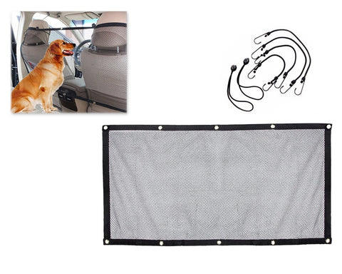 115 x 62cm Vehicle Pet Barrier with Hooks and Straps