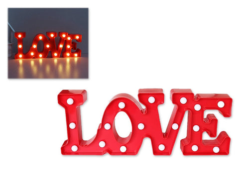 LED Marquee Love Symbol Light - Red