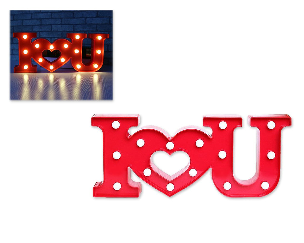 LED Marquee Love Light - Red