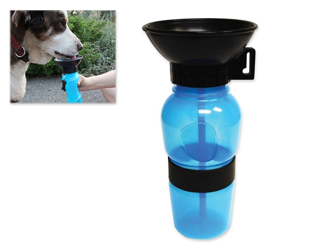 Portable Dog Water Bottle for Travel Outdoor Sports 585ml