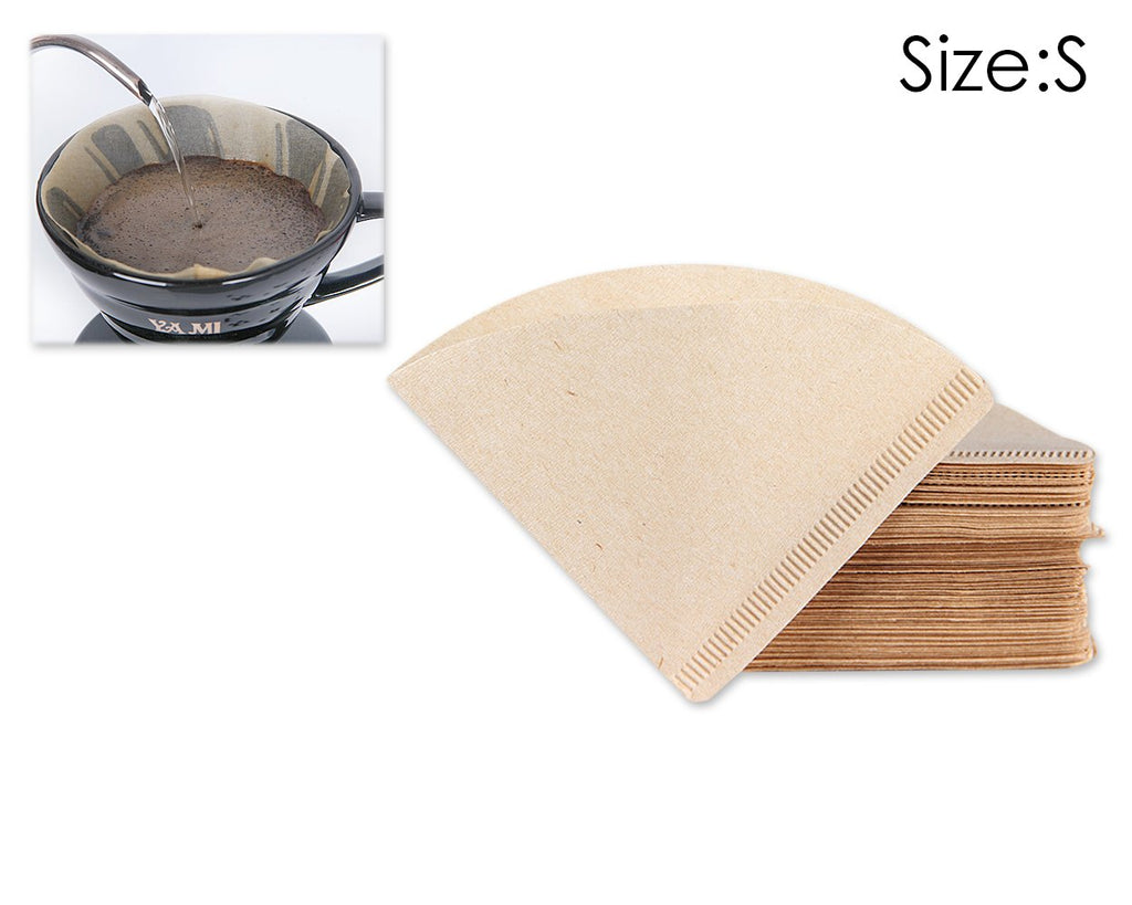 Paper Coffee Filter V Shaped 100 Sheets Coffee Strainer Paper
