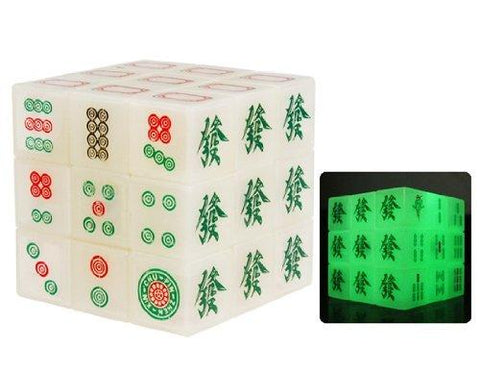 Mahjong Magic Puzzle Cube Stickerless Brain Teaser