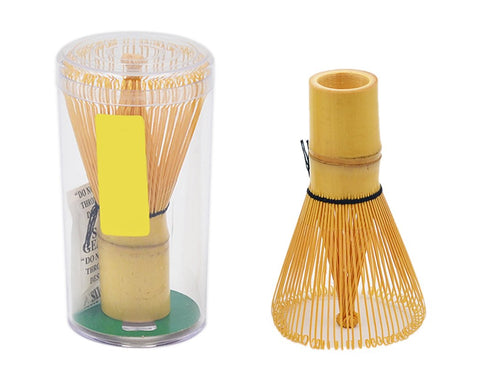 Bamboo Whisk and Hooked Bamboo Scoop