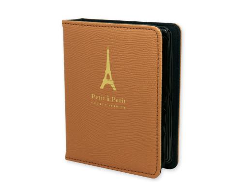 Retro Tower Photo Album for Fujifilm Instax Mini Films - Brown
