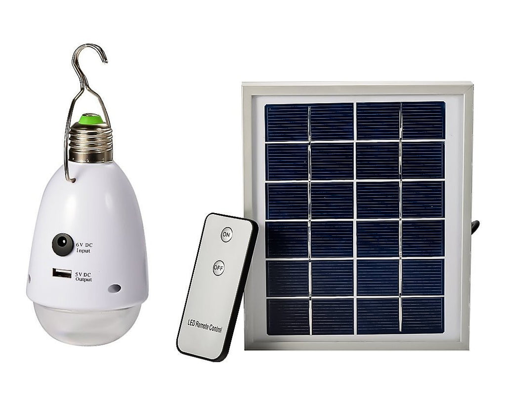 Outdoor Camping 2W 12 LED Solar LED Lamp with Remote Control