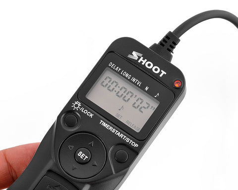 Timer and Shutter Remote Control for Nikon Cameras