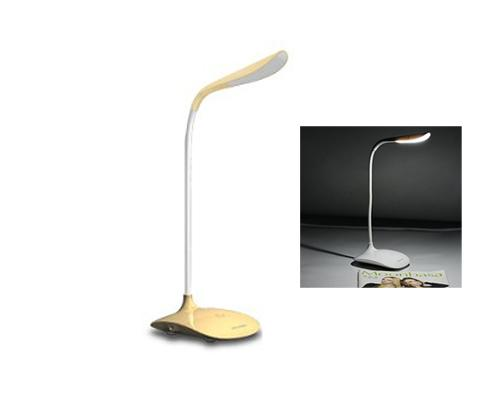 3 Level Adjustable Touch Sensor LED Desk Lamp - Yellow