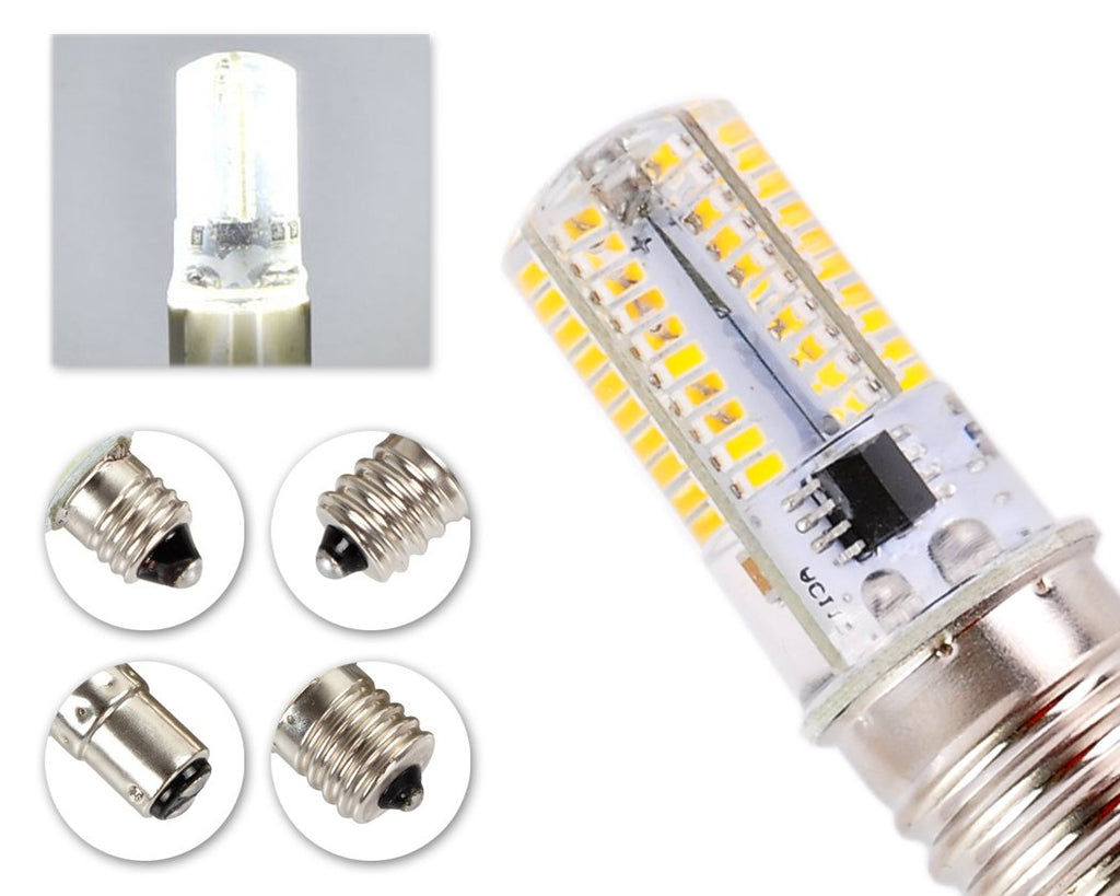 4W Dimmable LED Light Bulb Silicone Corn Light AC 220V - Natural White