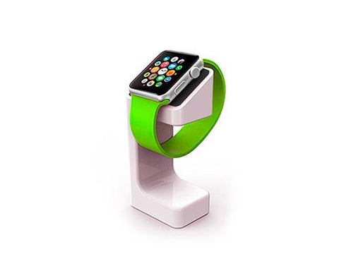 Plastic Watch Charging Display Stand for 38mm/ 42mm Apple Watch -White