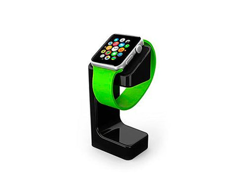 Plastic Watch Charging Display Stand for 38mm/ 42mm Apple Watch -Black