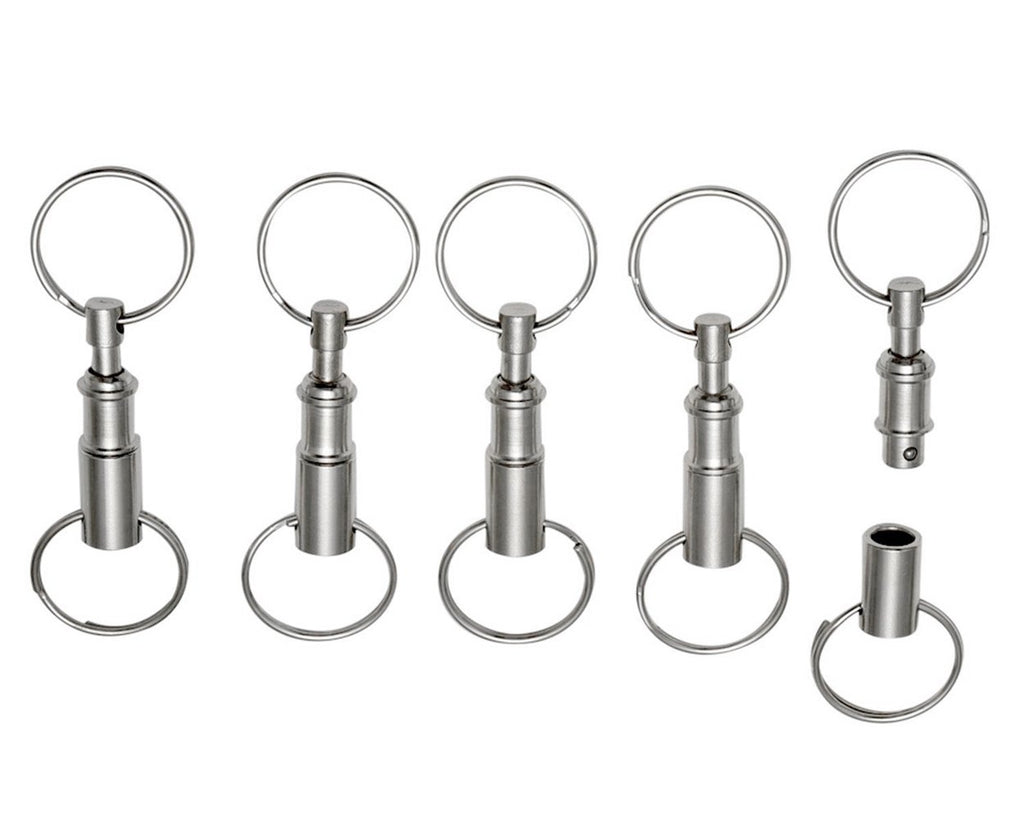 Quick Release Keychain 5 Pieces Detachable Keychain