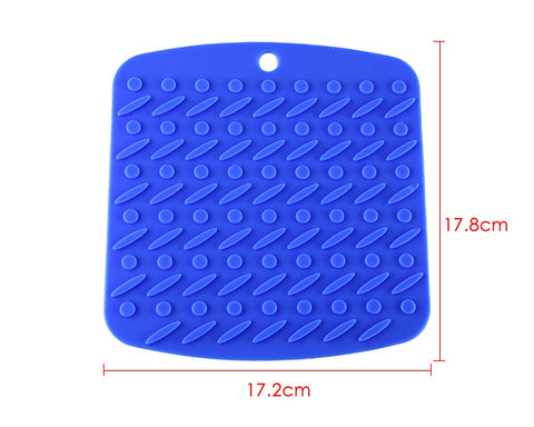 Silicone Pot Holder 4 Pieces Anti-Slip Trivet Mats