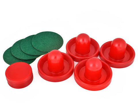 Adult Air Hockey Pushers Set  with 8 Pucks