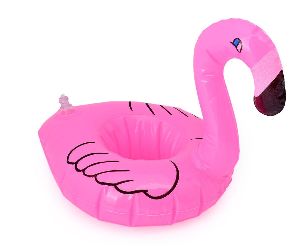 Mini Flamingo Inflatable Pool Float for Drinks