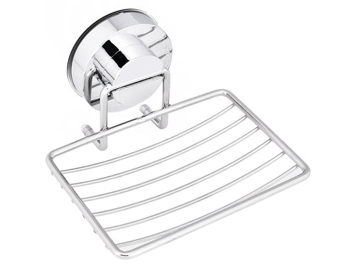 Stainless Steel Soap Holder with Suction