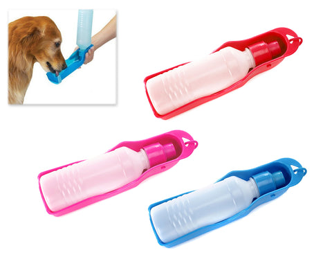 Pet Travel Water Bottle Foldable Dog Water Dispenser