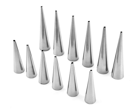 Cone Molds Set of 12 Cream Horn Mold