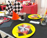 Racing Checkered Flags 12 Pieces Finish Line Flags for Race Car Party