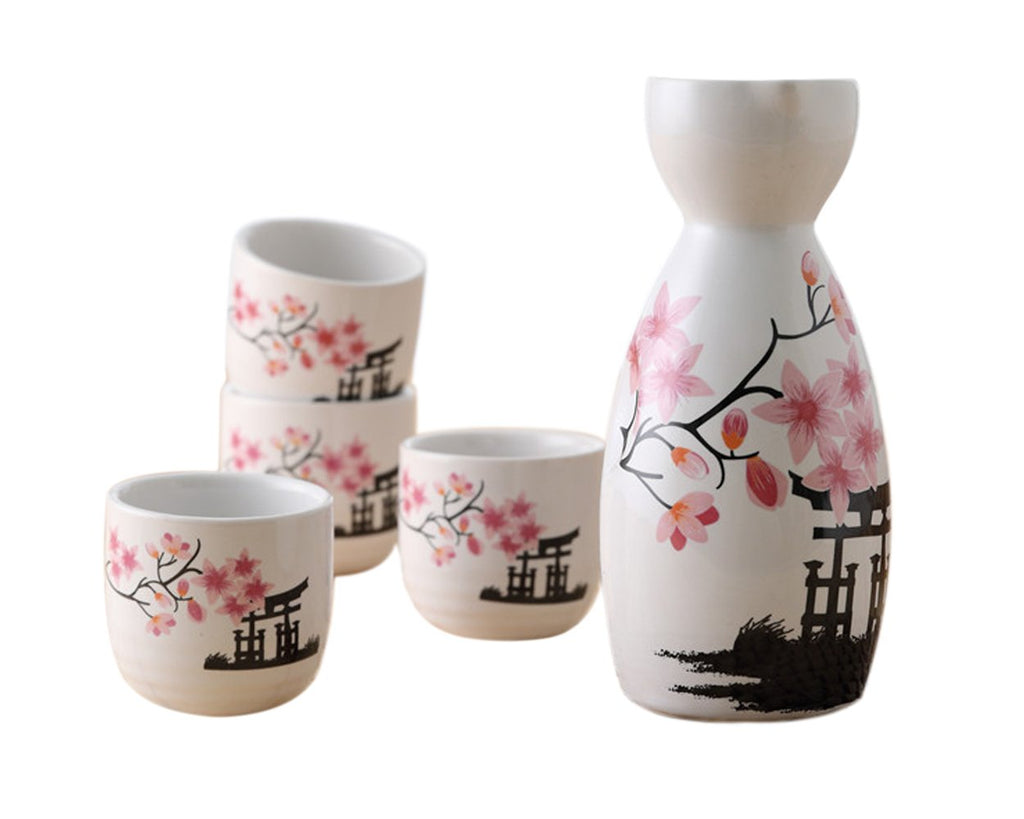 Ceramic Japanese Sake Set
