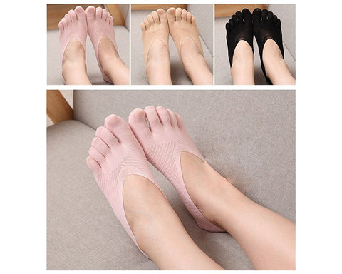 3 Pairs Thin Toe Socks for Women
