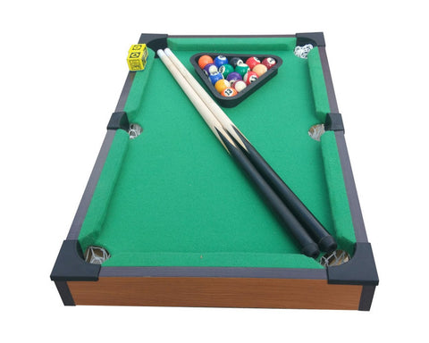 Mini Pool Set 20 Inches Mini Billiards Game Set Portable Pool