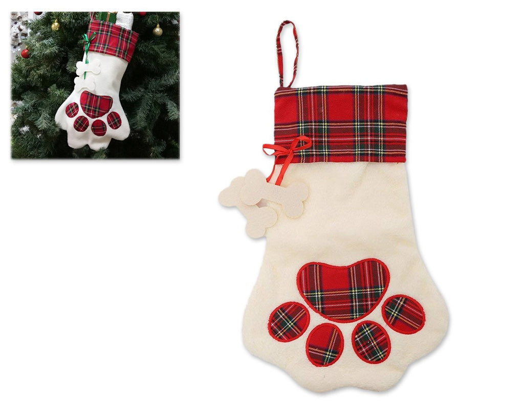 Christmas Stocking 18 Inch Plaid Christmas Stockings