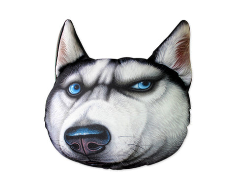 Car Neck Pillow 3D Animal Printed Headrest Pillow