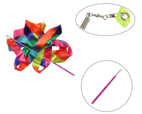 Dance Ribbons 4m Rhythmic Gymnastics Ribbon for Kids