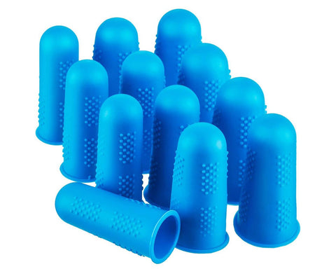 Finger Caps 12 Pieces Silicone Finger Protectors for Hot Glue