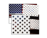 American Flag Star Template Set of 7 Stencils 3 Sizes