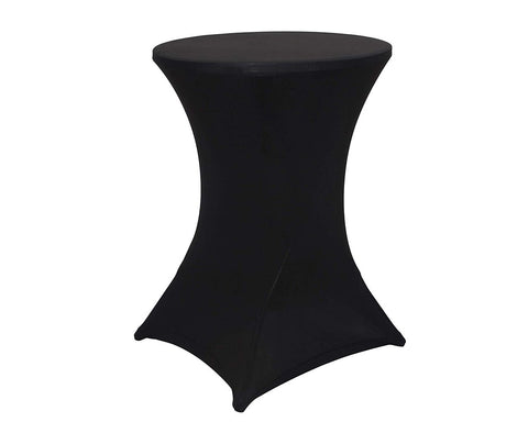 Highboy Tablecloth for 30 x 42 Inches Table 2 Pieces Spandex Table Cover