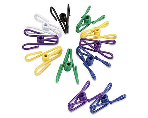 Clothesline Clips 32 Pieces Utility Clips for Home and Kitchen