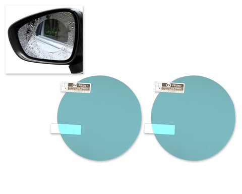 Anti Water Mist Film for Side Mirror 2 Pcs Anti Rain Film