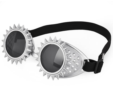 Novelty Steampunk Goggles with Adjustable Band