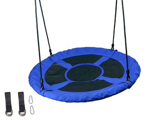 Saucer Tree Swing Outdoor Swing with Hanging Strap Kit