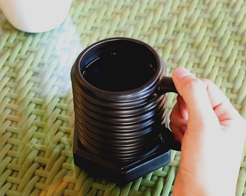 300ml Screw Shape Ceramic Coffee Mug