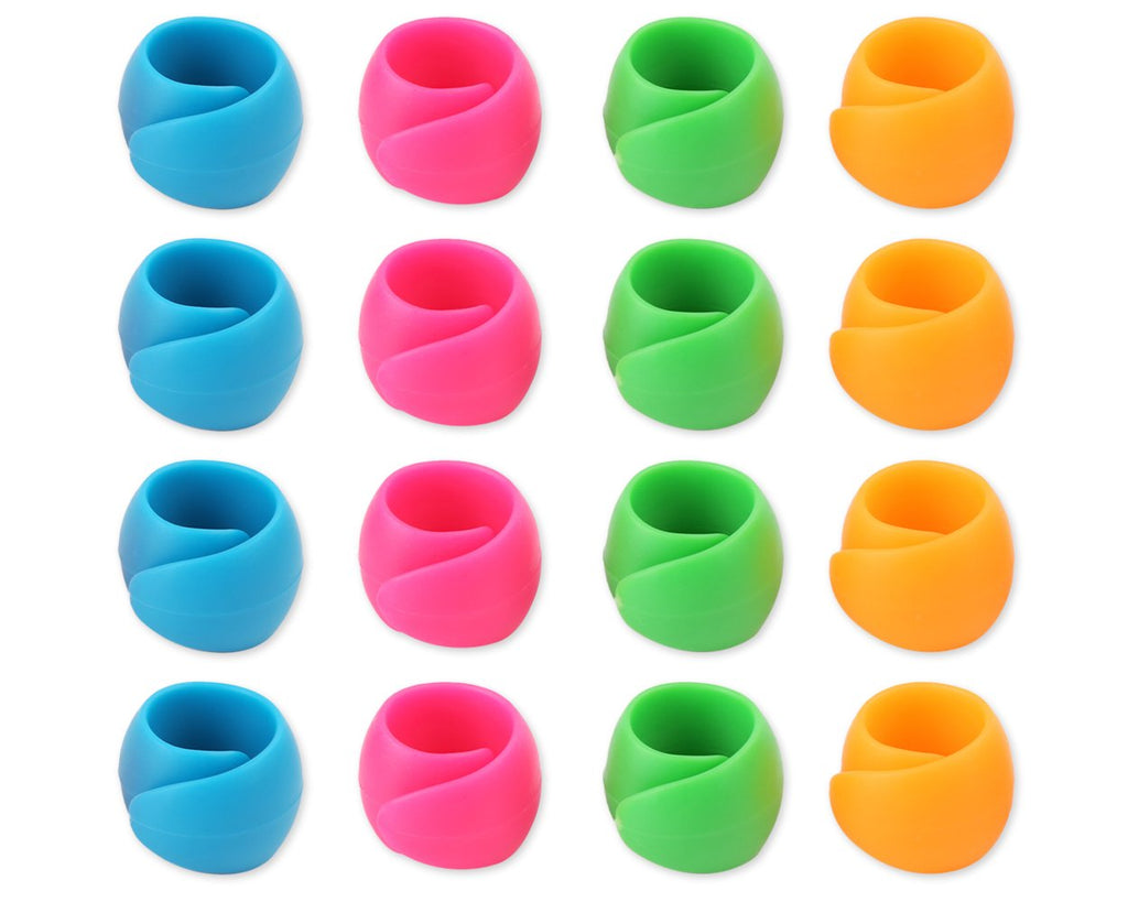 Thread Spool Huggers 24 Pieces Silicone Tangled Thread Saver Tools