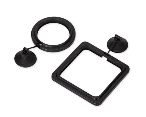 Fish Feeding Ring 2 Pieces Floating Food Feeders for Aquarium and Fish Tank