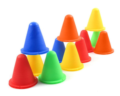 Training Cones 20 Pieces Plastic Sport Cones for Sport Training Course