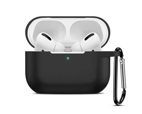 Silicone Protective Case for AirPods Pro with Keychain