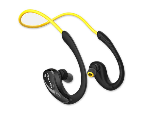 AWEI Wireless Bluetooth Headphones Sweatproof Earphones