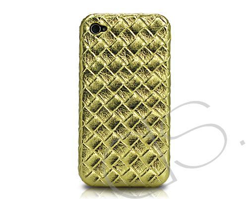 Amano Series iPhone 4 and 4S Leather Case - Gold